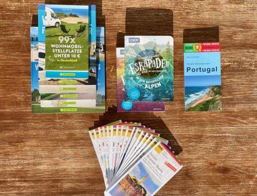 Reisen lernen mit den richtigen und besten 📕Camping Büchern