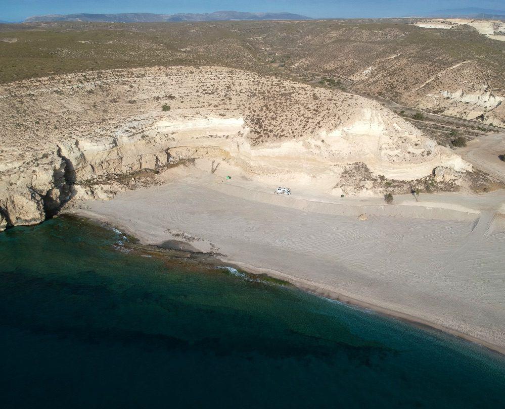 DJI Cabo de Gata Beach