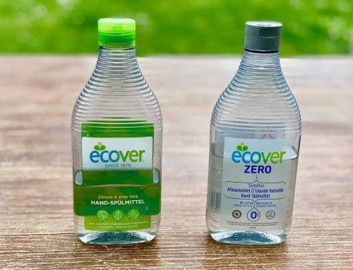 Geschirrspülmittel biologisch abbaubar zur besseren Entsorgung