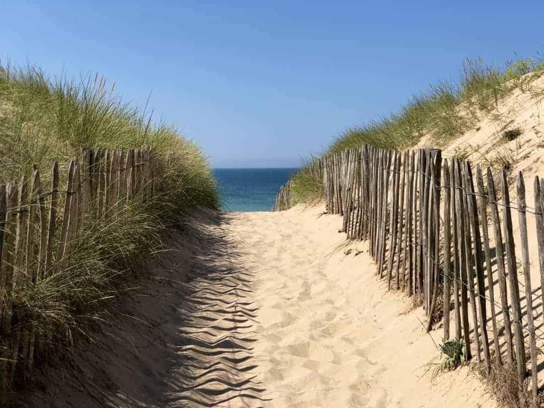 Ile de Re Weg zum Strand