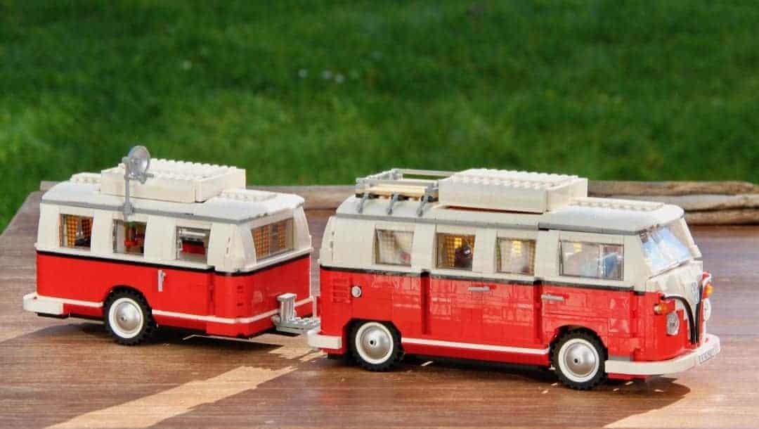 Lego VW T1 Grüner Rasen