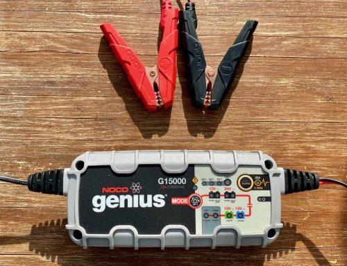 Batterieladegerät fürs Auto, Wohnwagen, Wohnmobil