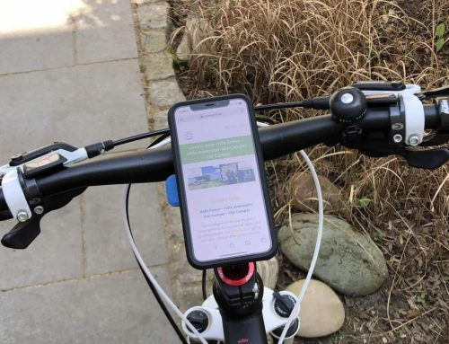 Campen, Biken und Handy – Die stabile Halterung
