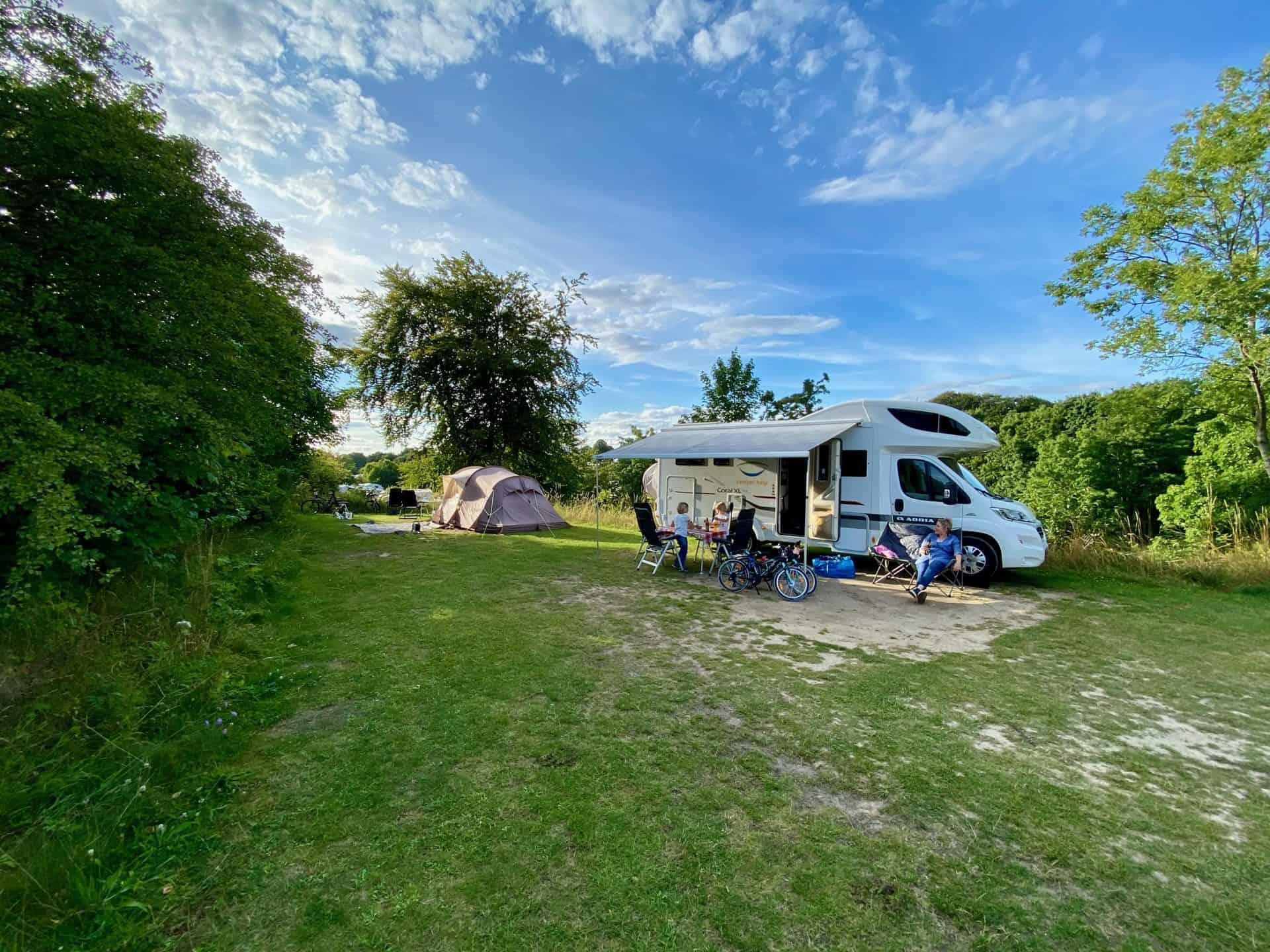 Reise-Wohnmobil-Daenemark-Campingplatz-Mons-Klint-entspannter-erster-Abend