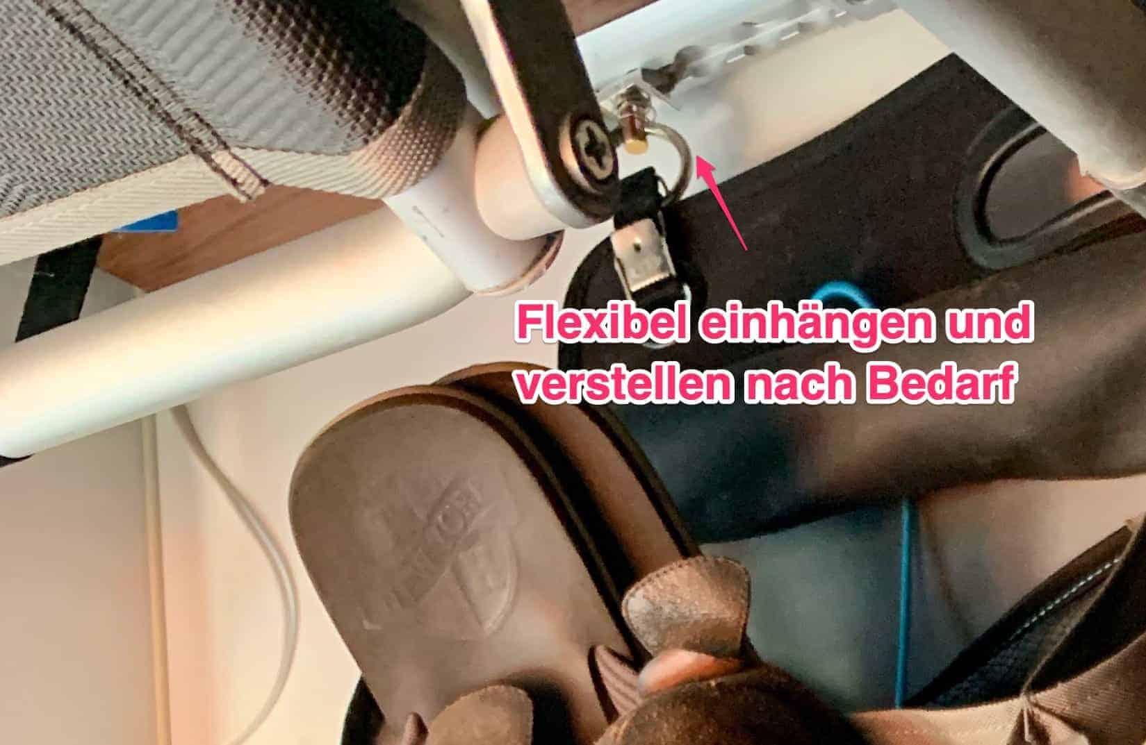 Schuhorganizer_Thule_flexibel_einhängen