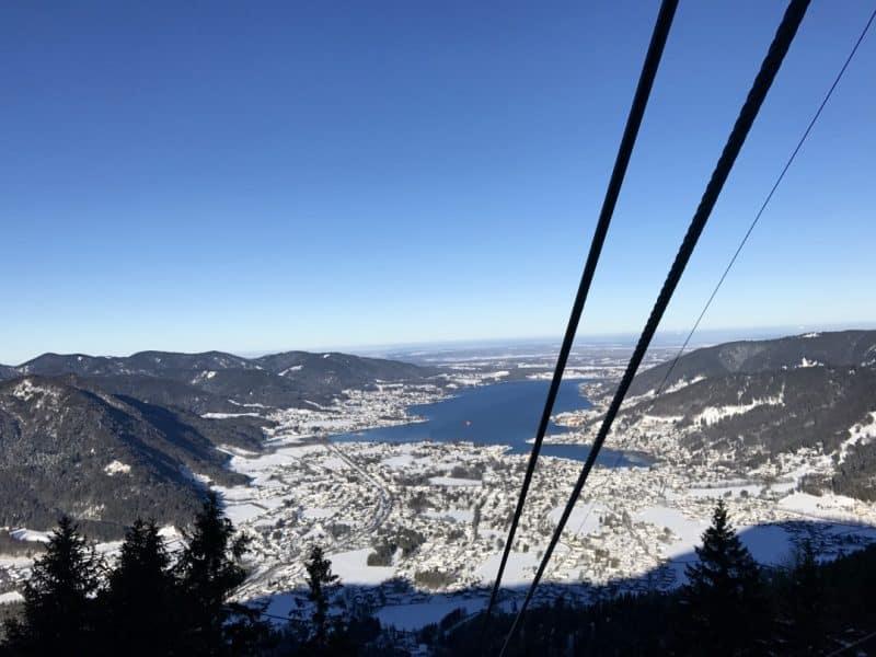 Tegernsee Wallbergbahn Winter