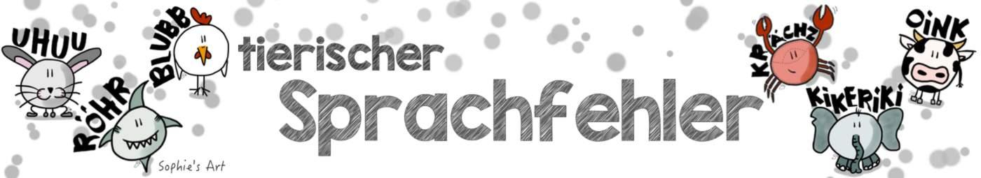 Tierischer-Sprachfehler-Banner