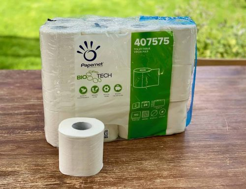 Selbstauflösendes Toilettenpapier für die Campingtoilette