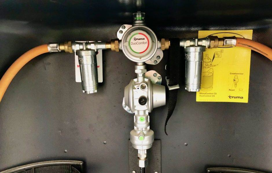 Truma Gasregler mit Gasfilter