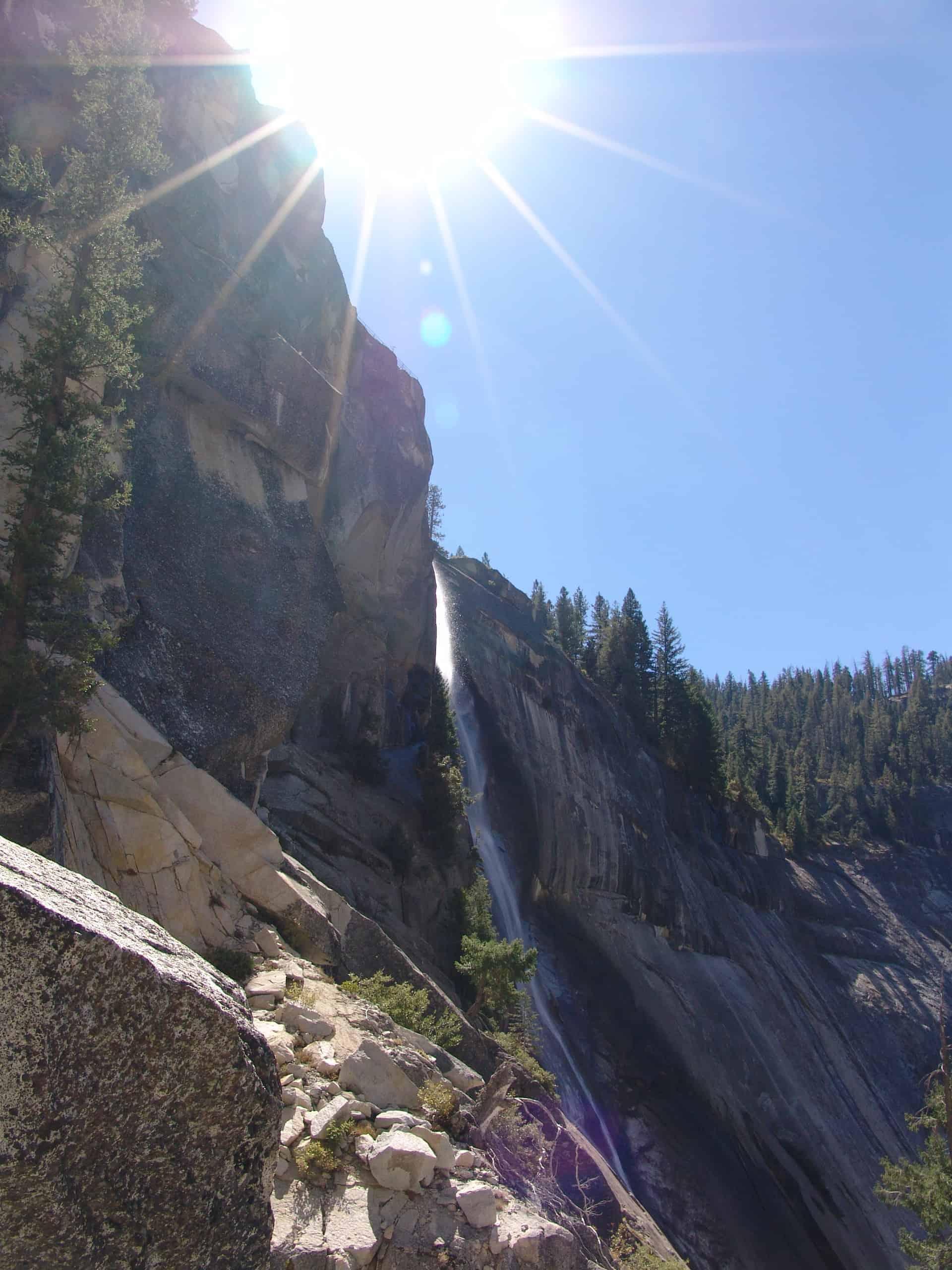 USA_Yosemite_Half_Dome_Wasserfall