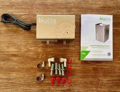 Biolite – Wasserdesinfektion mit UV-Licht per LED