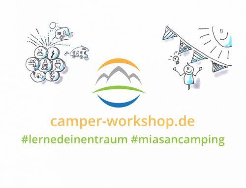Letzter Camper-Workshop dieses Jahr am 12. September
