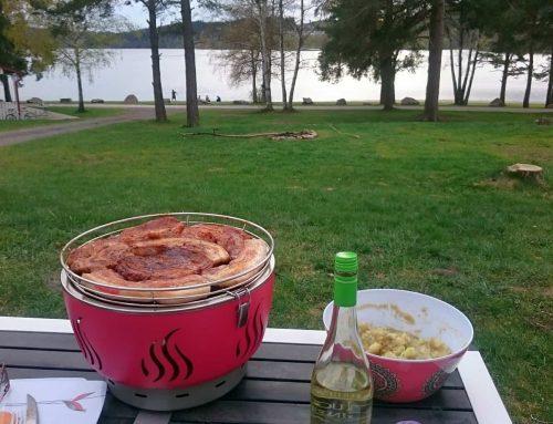 Campingzeit – Grillzeit – Der LotusGrill
