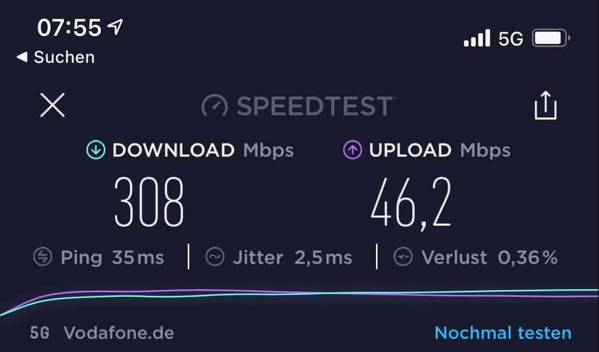iPhone12Pro-Fotos-5G-Speedtest-München