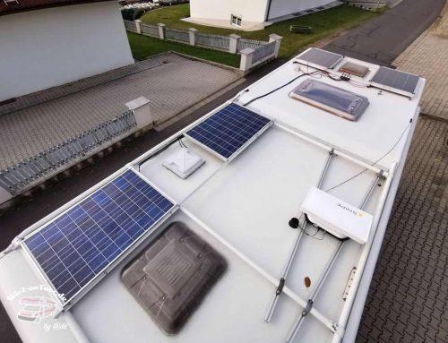 Umbau und Erweiterung meiner Wohnmobil Solaranlage